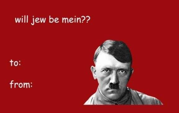 В университете Мичигана запретили отправлять валентинки с Гитлером