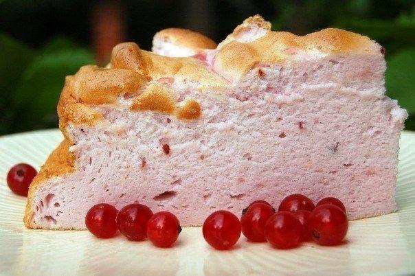 Нежный и воздушный торт «Розовое облако». Тает во рту!