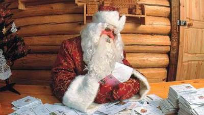 Дед Мороз понесет Олимпийский огонь без костюма