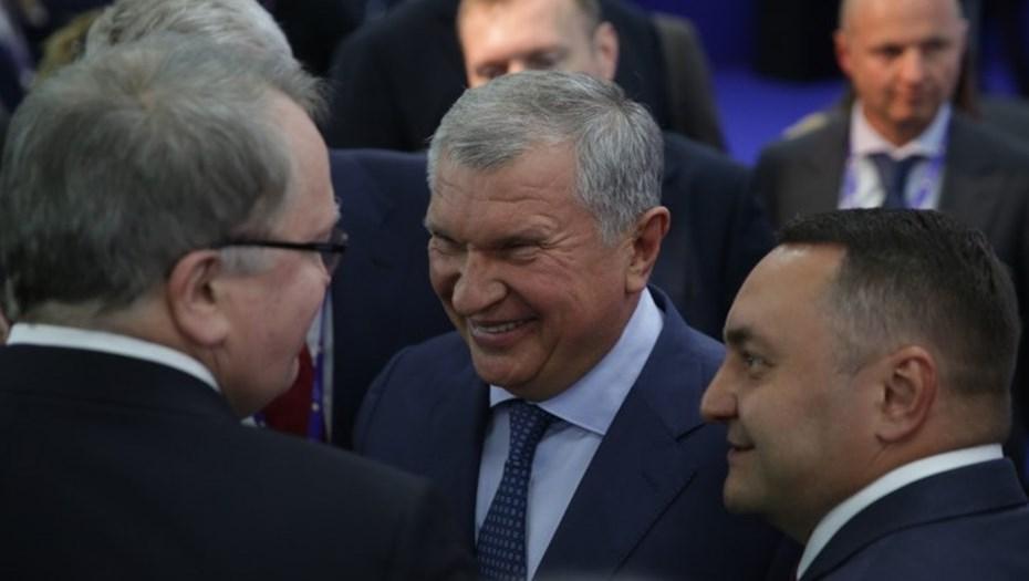 """Акционеры """"Роснефти"""" попросили Сечина объяснить икорницы за 83 тыс. рублей"""