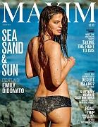 Эмили ДиДонато на обложке Maxim, август 2015