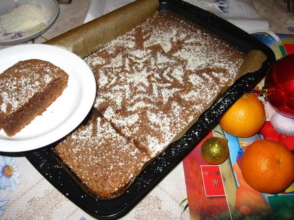 Шоколадный пирог «Брауни»