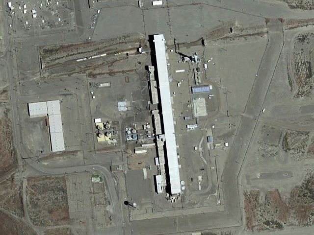 Фото. Тоннели для хранения ядерных отходов в Хэнфорде частично обрушились © GOOGLE EARTH | GLOBALLOOKPRESS.COM