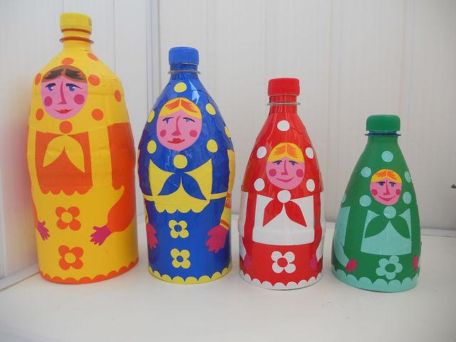 Бутылок детские поделки своими руками