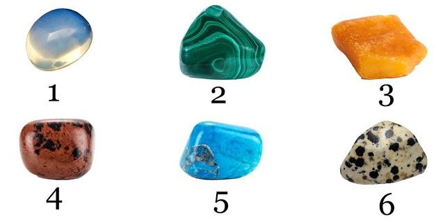 Не задумываясь выберите камень