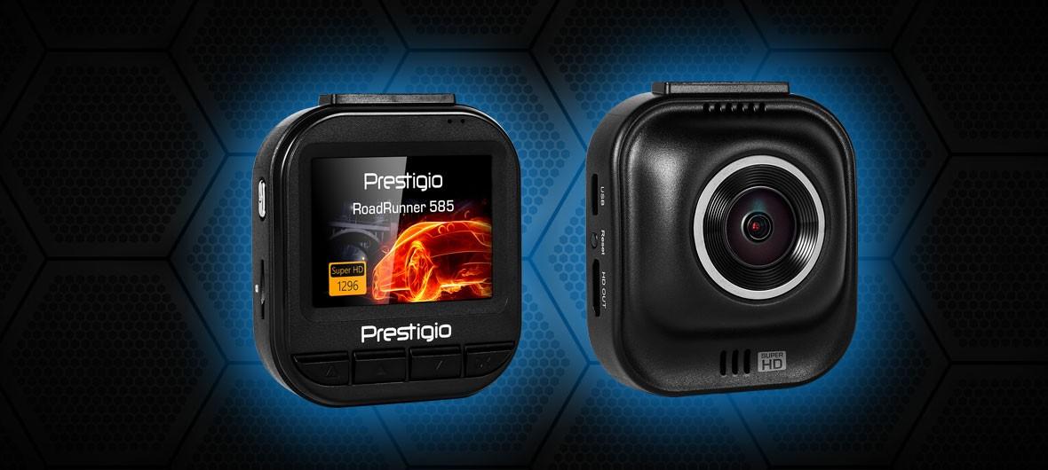 Обзор Prestigio RoadRunner 585. Видеорегистратор с Super HD записью