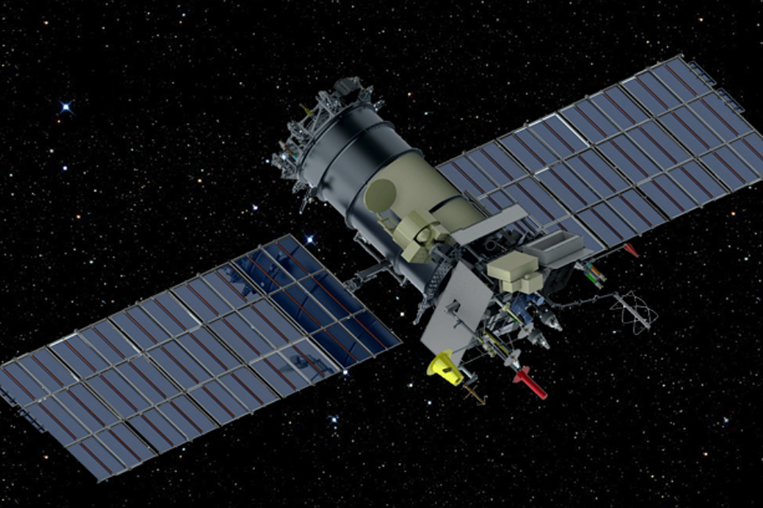 Внештатная ситуация со спутником