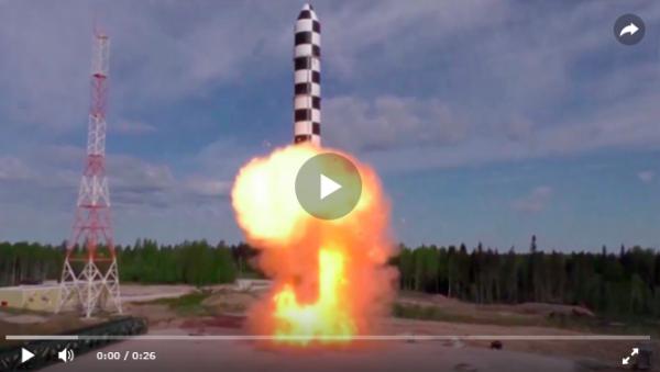 Ракеты «Сармат» - грозное оружие возмездия РФ