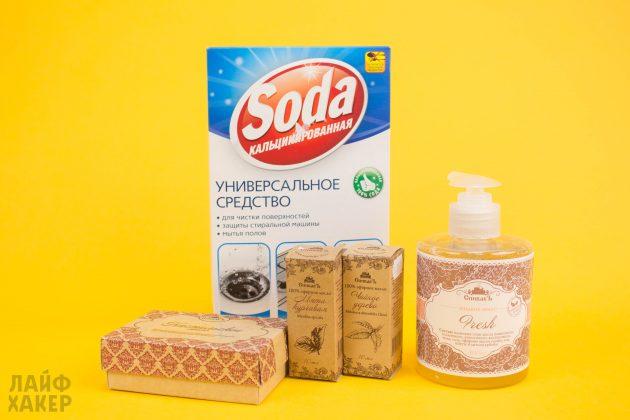 Безопасное средство для мытья посуды: ингредиенты