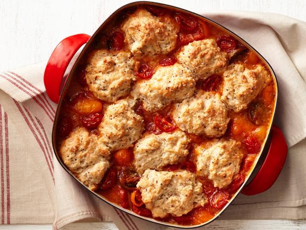 Коблер с помидорами