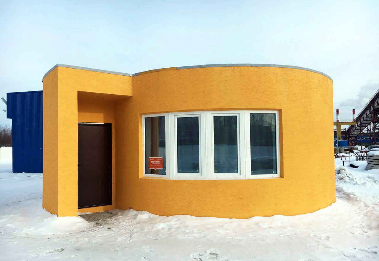 Российская компания построила жилой дом с помощью 3D-принтера за 24 часа