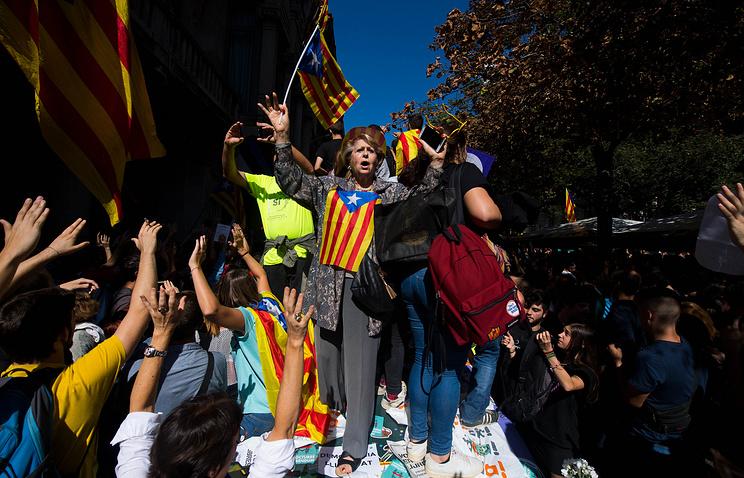 В МИД РФ заявили о возможной эскалации ситуации в Каталонии