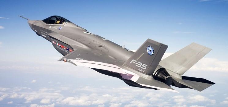 Американские  F-35 летят на Ближний Восток