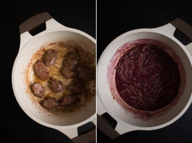 Что можно приготовить из стейка свинины видео
