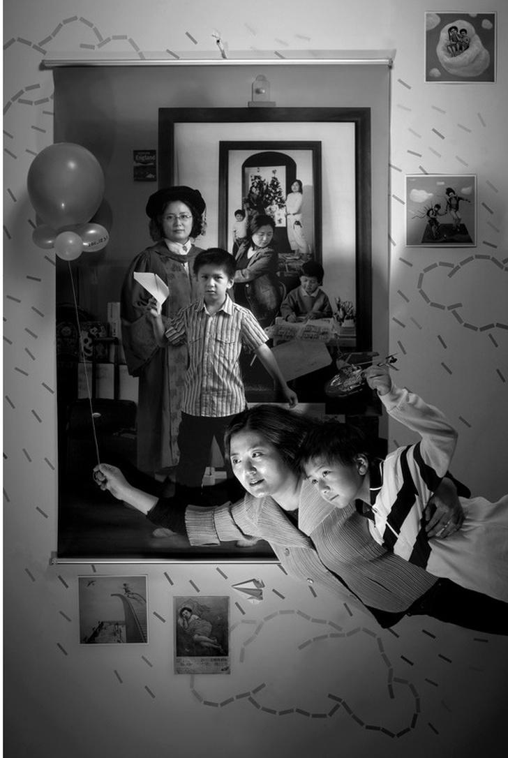 Женщина изТайваня фотографирует своего ребенка напротяжении 17лет. Снимки поражают
