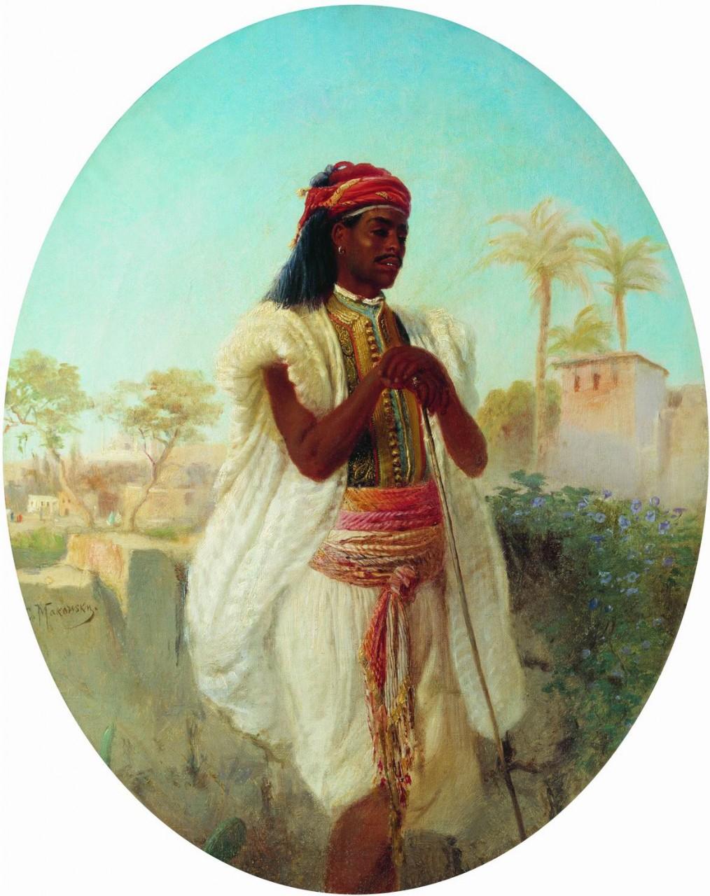 МаковÑкий К.. Каирец. 1870-е