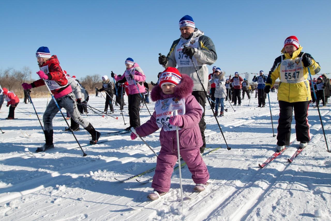 В вашем городе проходила «Лыжни России» и принимали ли в ней участие?