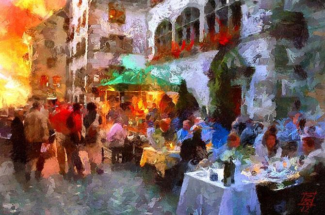 Художники, которые видят мир трогательно красивым и восхитительно цветным