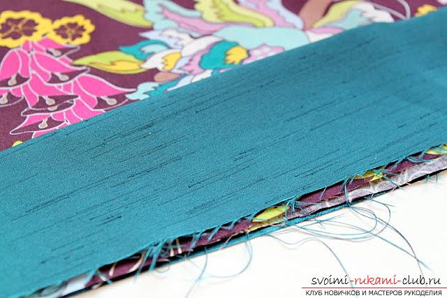 Пошив платья для дочки своими руками по инструкции с фото. Фото №7