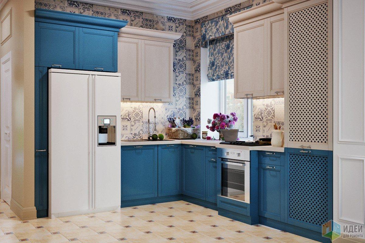 Смешение стилей в кухне-столовой