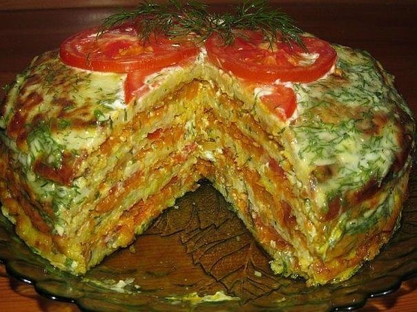Вкуснейший тортик из кабачков. Успей попробовать, пока сезон!