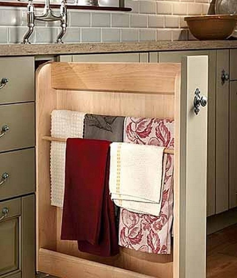 Системы хранения на кухне своими руками