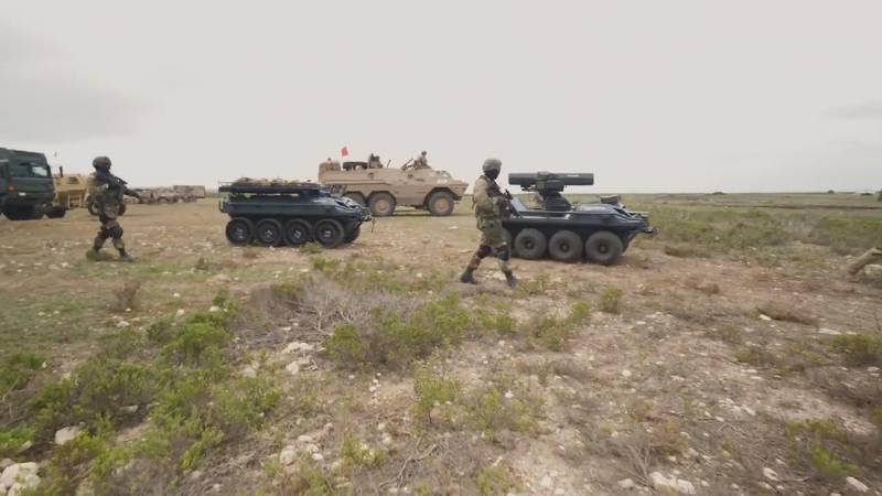 Робототехнический комплекс Rheinmetall Mission Master. Транспорт, разведчик и боец на одной платформе