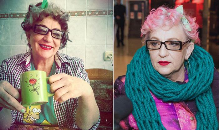 """Степанида Цвит - бабушка-хипстер из Украины: """"В душе мне всегда 25!"""""""