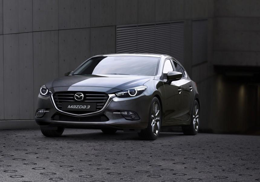 Японцы рассекретили обновлённую Mazda 3