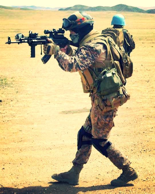 Монгольский спецназ