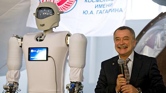 Российские ученые создали эмоционального робота по имени «Гагарин»