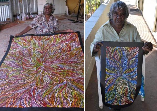 Яркая живопись австралийских аборигенов