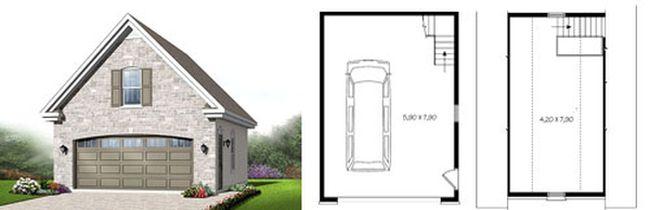 Как построить мансарду своими руками на гараже