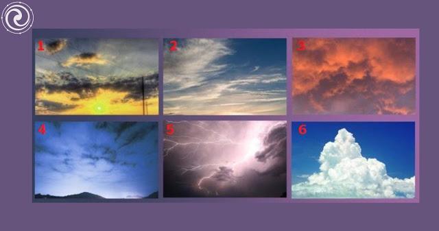 Выберите своё небо и узнайте характеристику своей личности