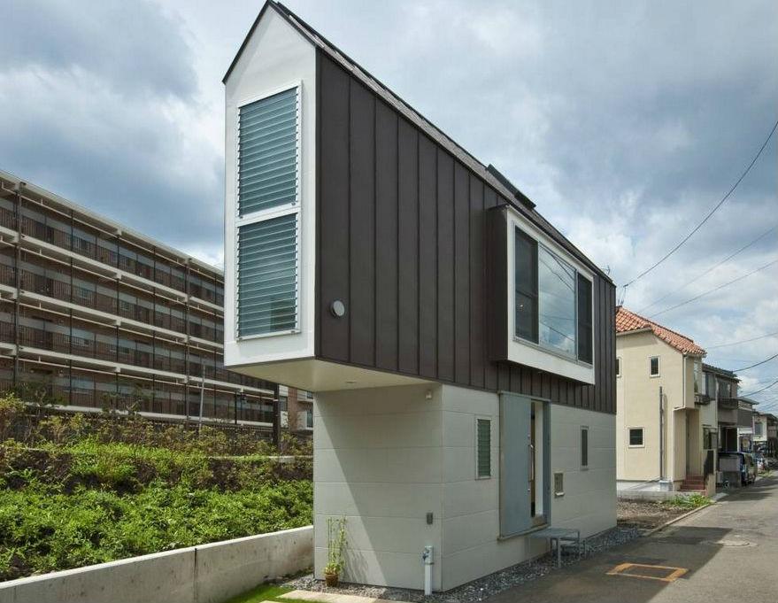 Самый компактный и узкий дом в Японии
