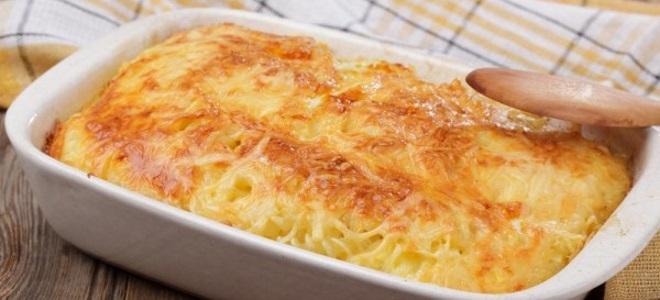 Запеканка из макарон с яйцами и сыром в духовке рецепт с пошагово
