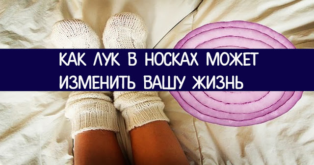 Как лук в носках может изменить вашу жизнь