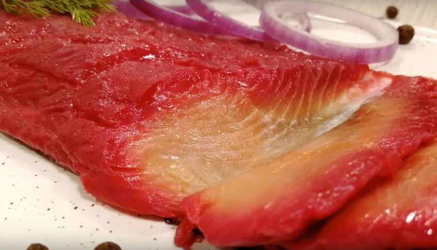 Необычная и вкусная соленая рыбка