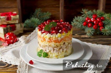 Когда «Оливье» уже в печёнках сидит: 3 новых, оригинальных и вкусных салата на Новый год