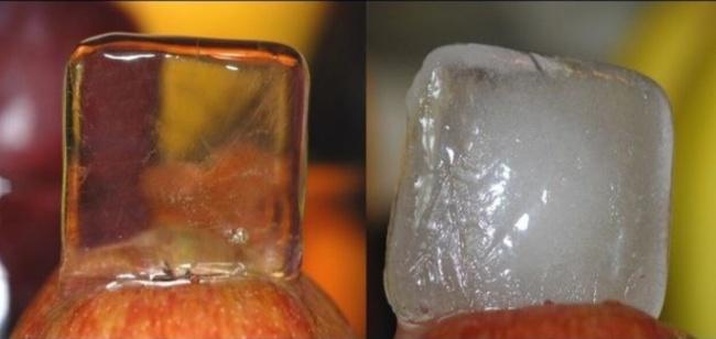 Какой лед сделать лица