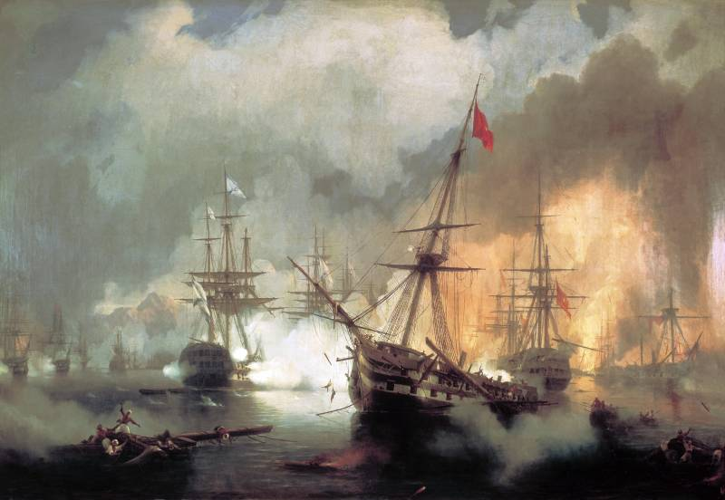 Как русская эскадра уничтожила турецко-египетский флот при Наварине