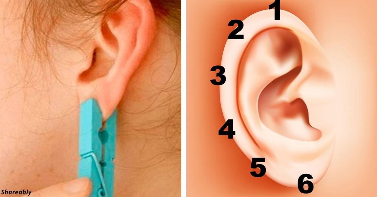Китайский прием - как воздействовать на волшебные точки вашего уха