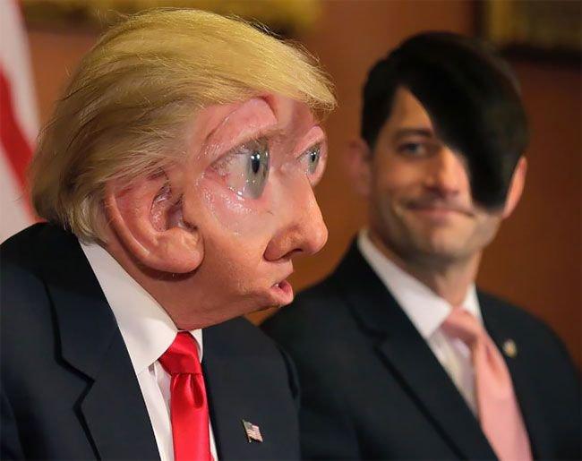 Безумные фотожабы на Дональд…