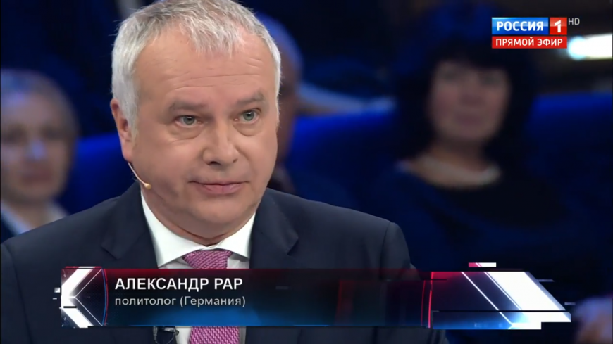Александр Рар: на Западе начинают понимать – все проблемы от Украины..