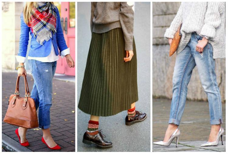 Стиль Casual для женщин, фото. Обувь
