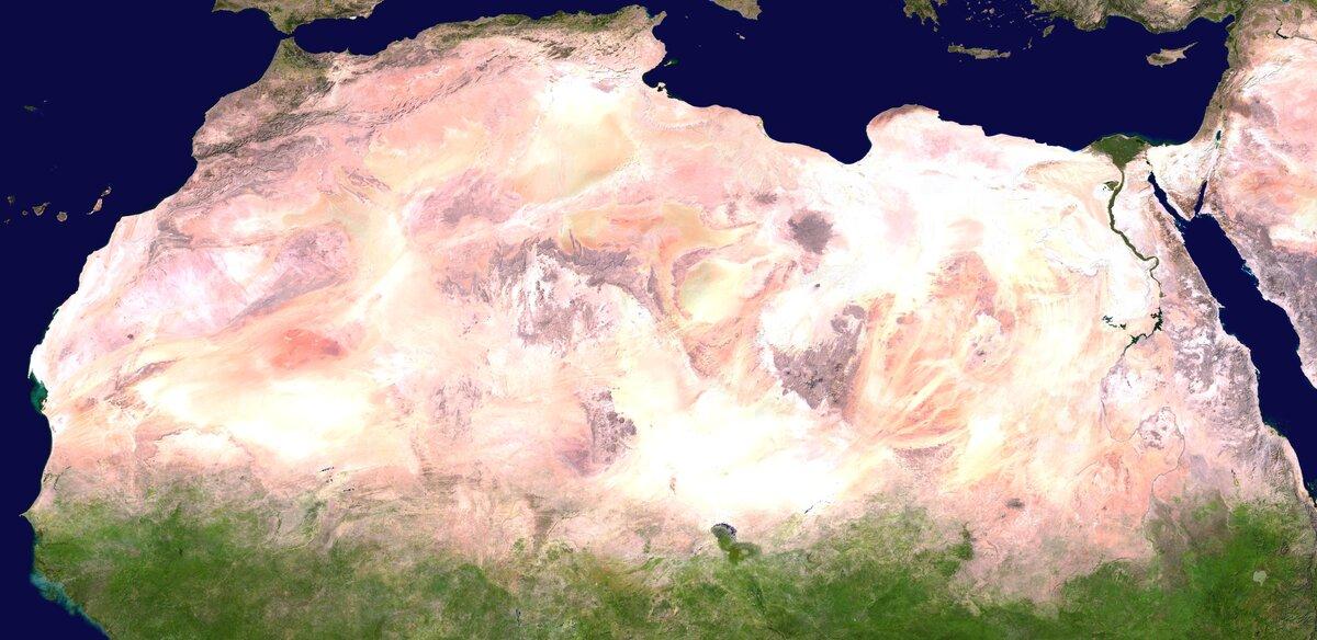 Площадь Сахары 9 000 000 кв.…