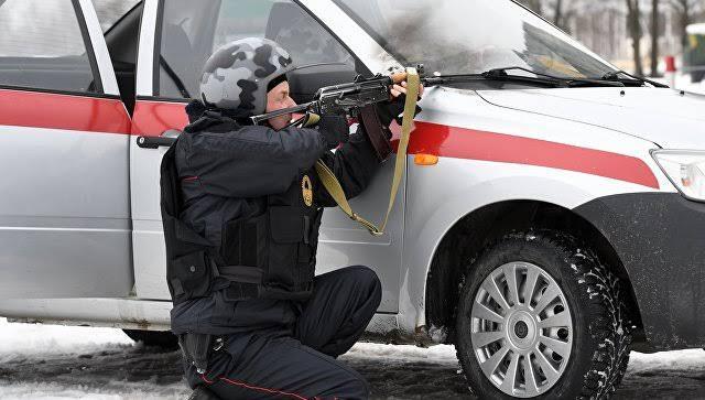 Террористы напали на воинскую часть Росгвардии в Чечне