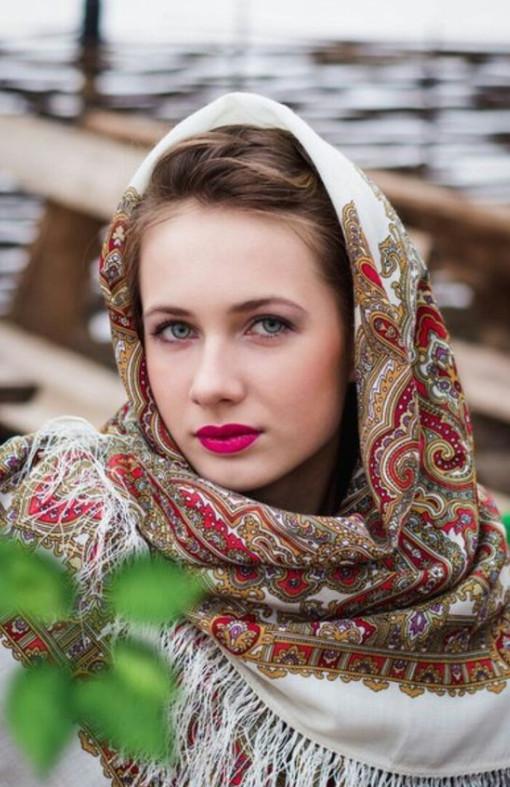 Красота славянок на фотографиях