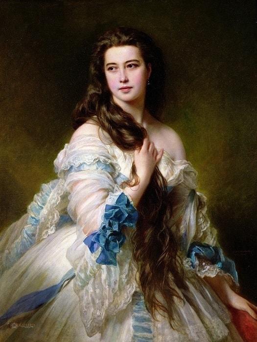 Нескромная красавица с портрета: как русская Венера покорила Париж и затмила французскую императрицу
