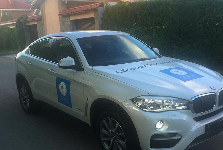 Олимпийская чемпионка продала подаренный президентом BMW X6